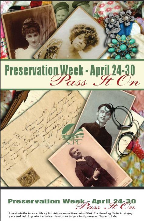 Allen County Preservation Week