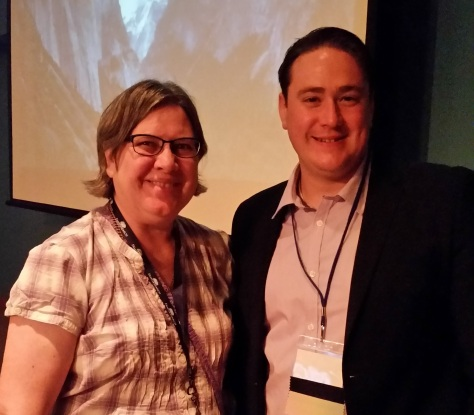 09JUL2016 Vicki Hahn and D. Joshua Taylor Genealogy Roadshow McHenry Cty College, IL MCIGS conference