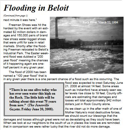 Beloit Flooding 2