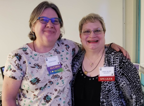 2018 Jul 7 - MCGS Conference McHenry IL - Vicki Hahn, Lisa Alzo