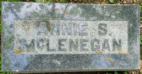 Oakwood Cemetery Annie McLenegan