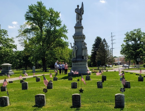 Oakwood Cemetery Civil War
