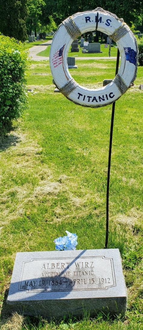 Oakwood Cemetery Titanic Wirtz